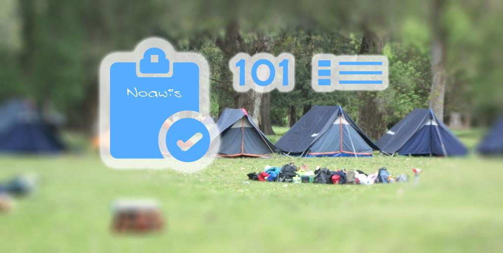 Los 101 detalles de planificar un campamento